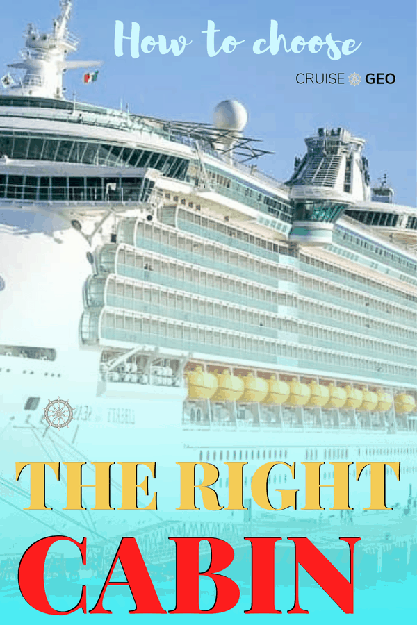 How To Choose The Cruise Ship Cabin (Complete Guide