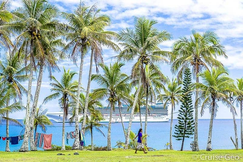 Mare New Caledonia with Princess Cruise