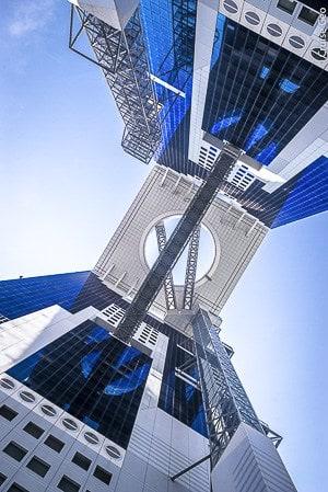 Umeda Skybuilding in Osaka, Japan