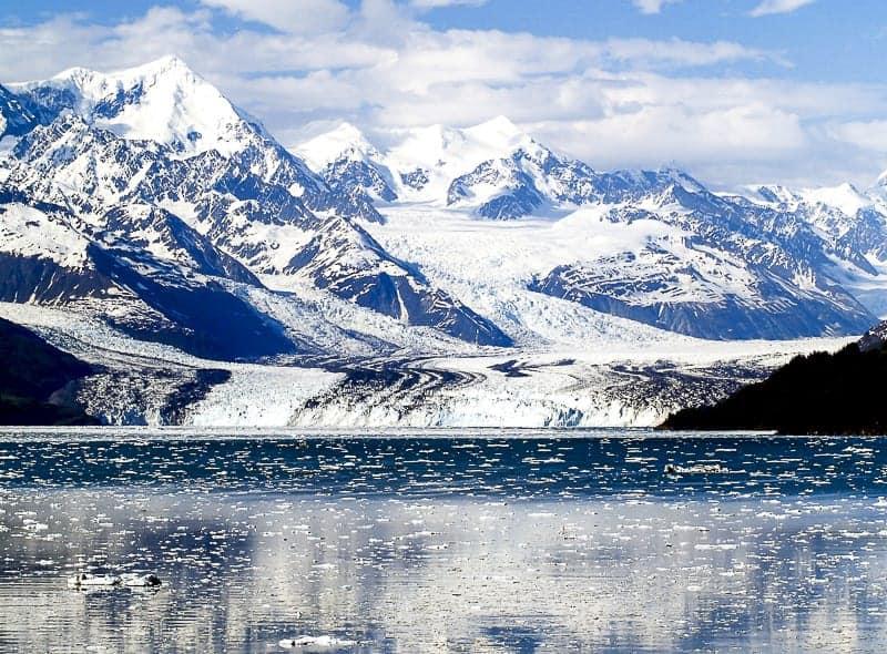 Stunning Landscapes of Fjord in Alaska