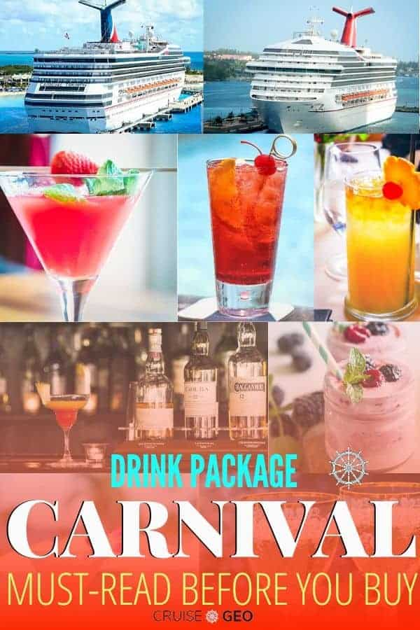 Carnival Cruise Drinks and Ships