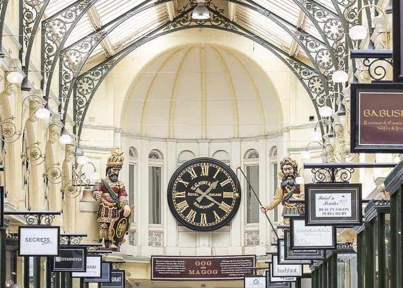 Royal Arcade in Melbourne, Australia