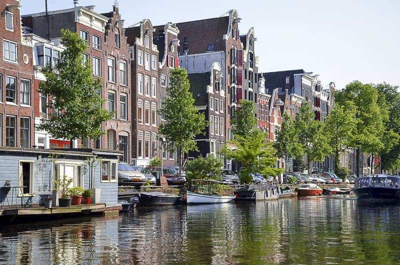 Amsterdam Waterfront Area, Netherlands