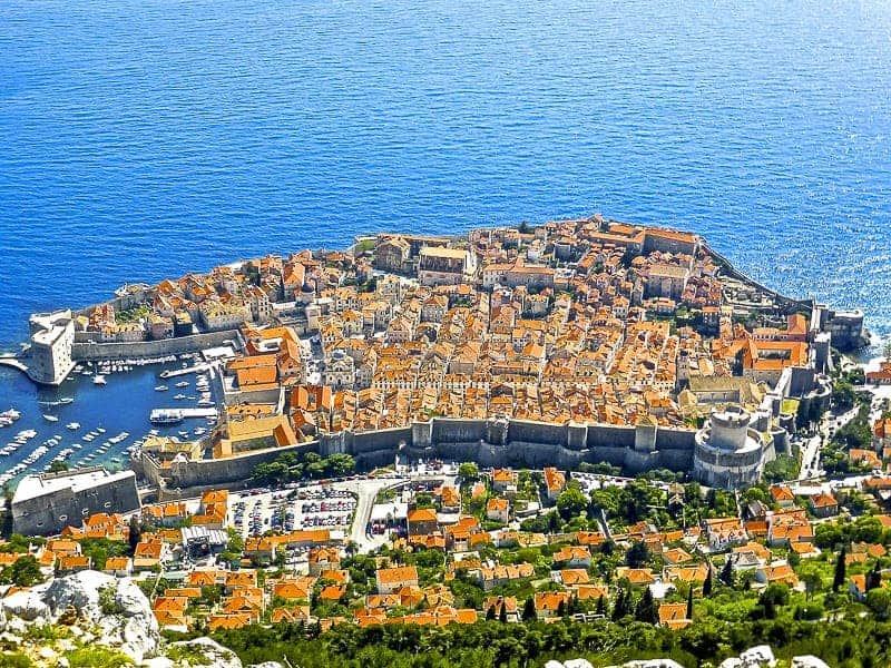 Old Town of Dubrovnik, Croatia