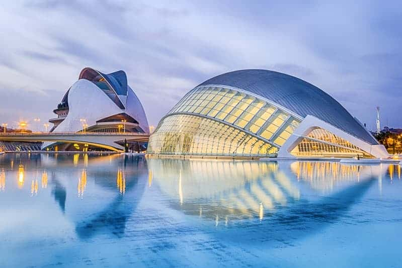City of the Arts and Sciences in Malaga, Spain