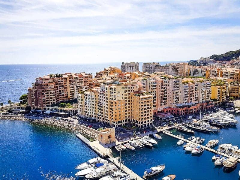 Western Europe Cruises - Monte Carlo harbour in Monaco