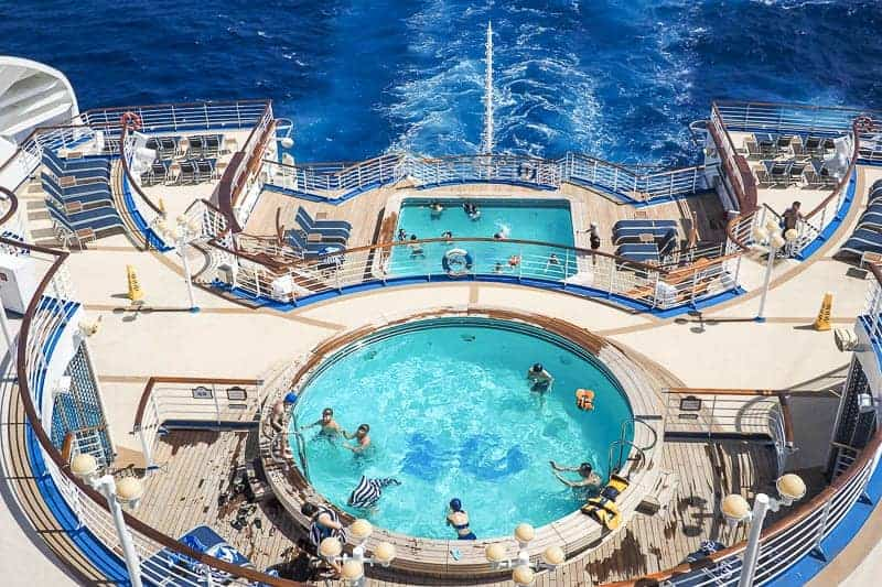 Deck Pool at Princess Cruises
