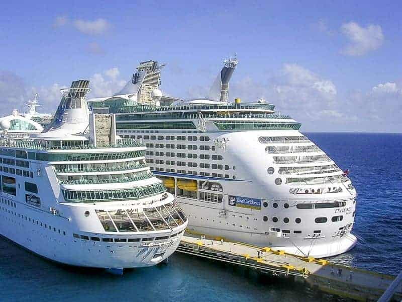 Royal Caribbean WiFi is ready at all the company's fleets.