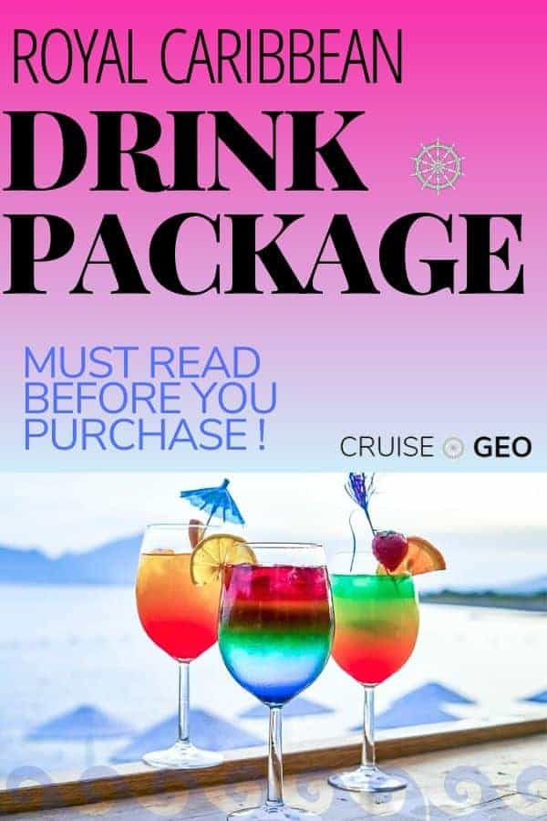 Royal Caribbean Drink Package with Cocktails
