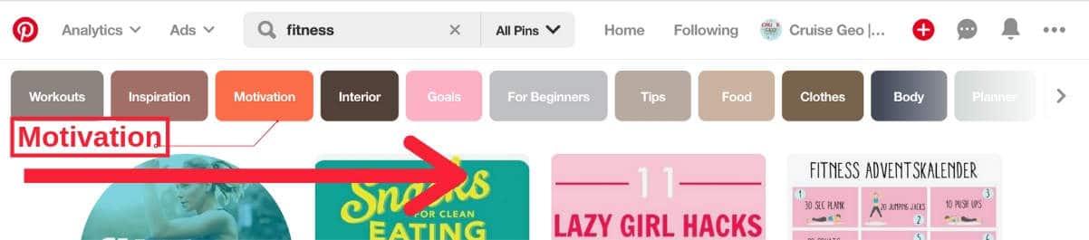 Pinterest Board Keyword Research