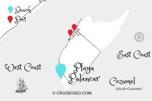 Playa Palancar Map