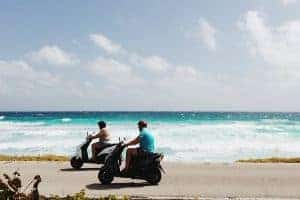 Renting a Scooter in Cozumel