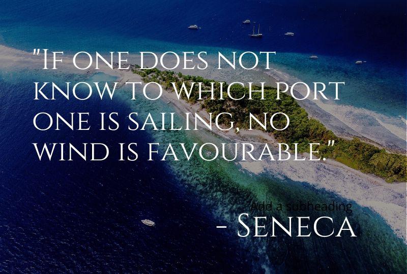 Cruise Quote from Seneca