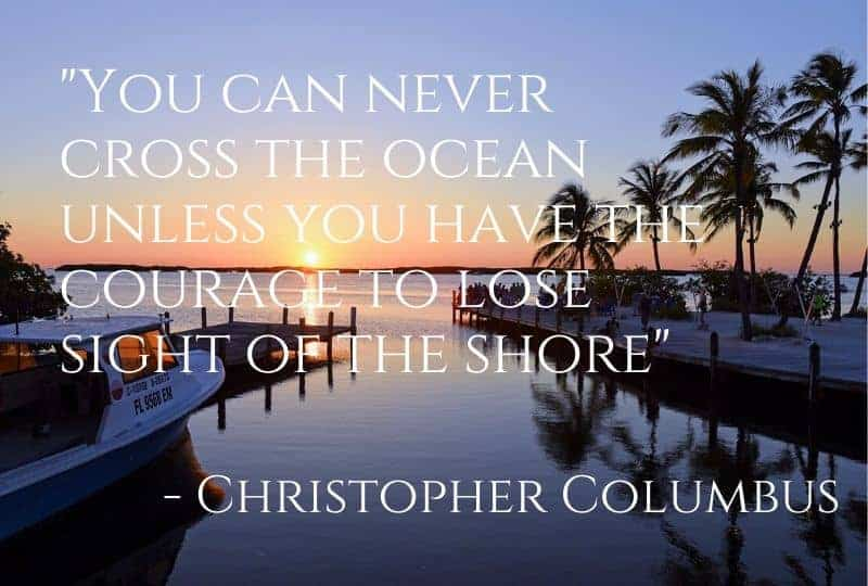 Sailing Quotes from Christopher Columbus