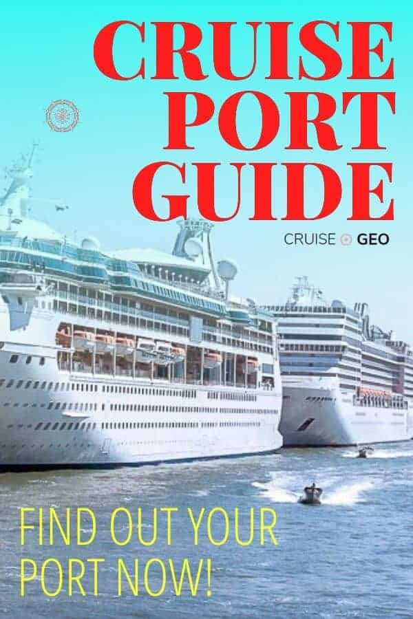 Cruise Port indicating transfers