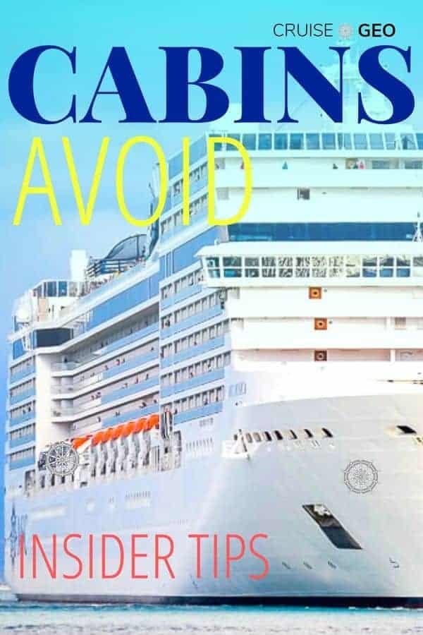 Cruise Ship Cabin to Avoid