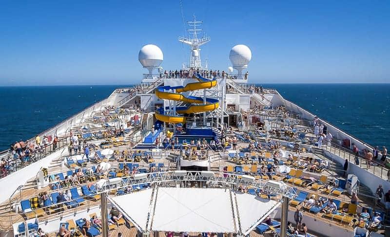Cruise Ship Cabins to Avoid near Lido Deck