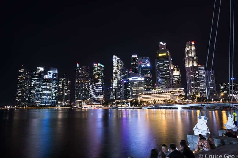Singapore Marina Bay Nightscape