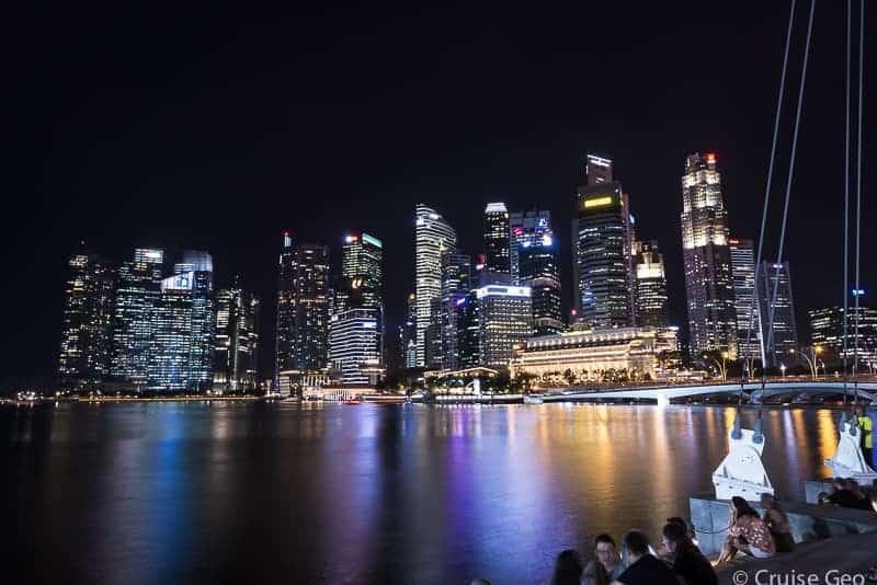 Singapore Marina Bay Nightscape