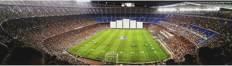 FC Barcelona's Camp Nou Stadium