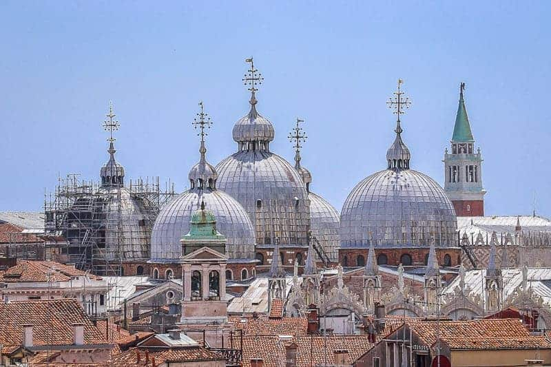 The Cupolas in Venice, Italy