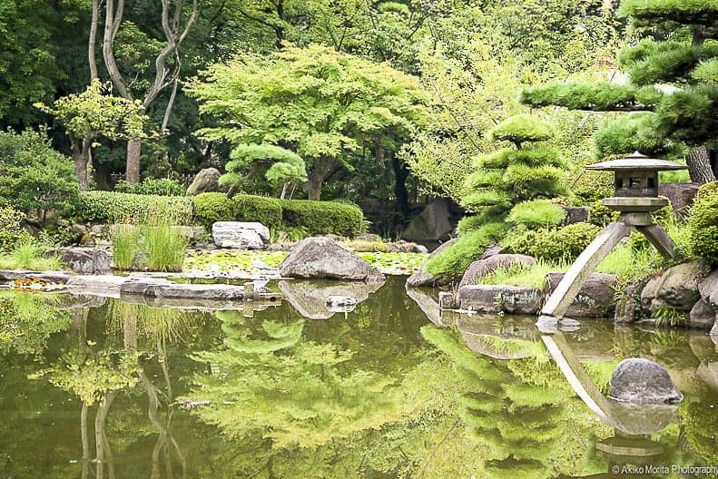 Keitakuen Garden in Osaka, Japan
