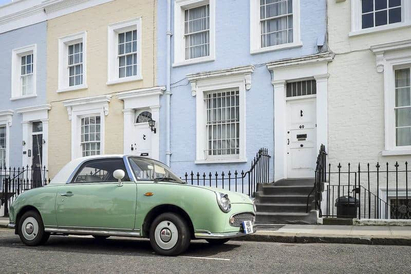 Notting Hill is one of the best places to stay in London