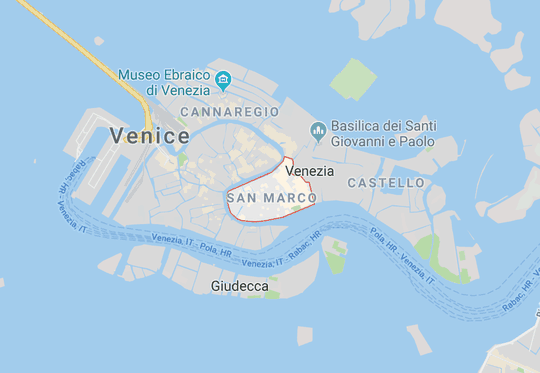 San Marco in Venice, Italy