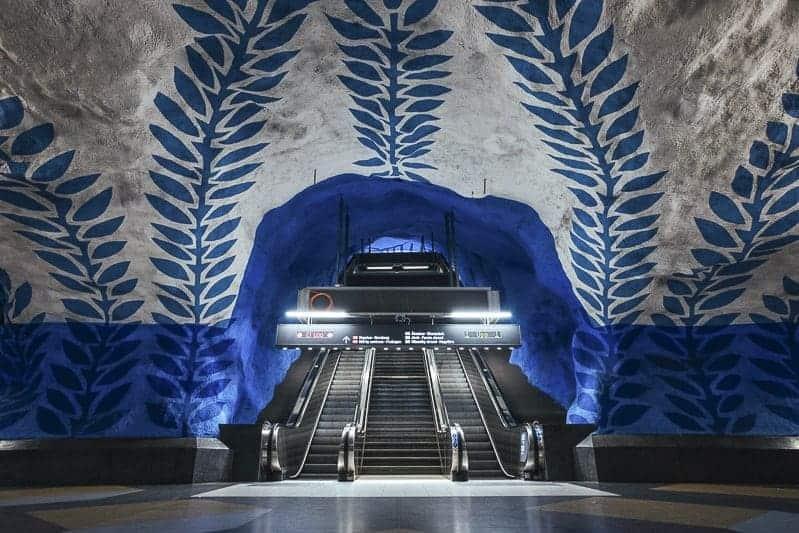 Stockholm Underground Blue