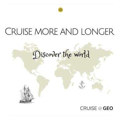 Cruise more and longer - the world map