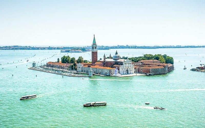 Venetian Lagoon in Venice, Italy