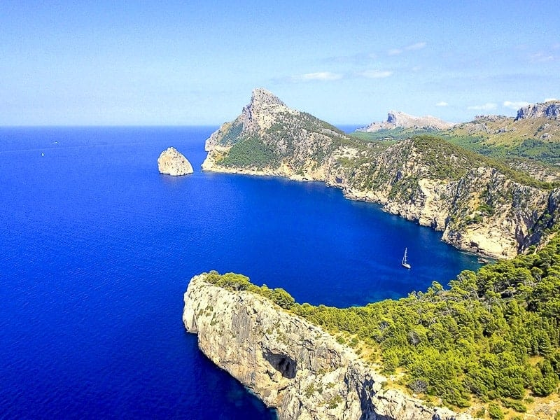 Cap de Formentor in Mallorca, Spain