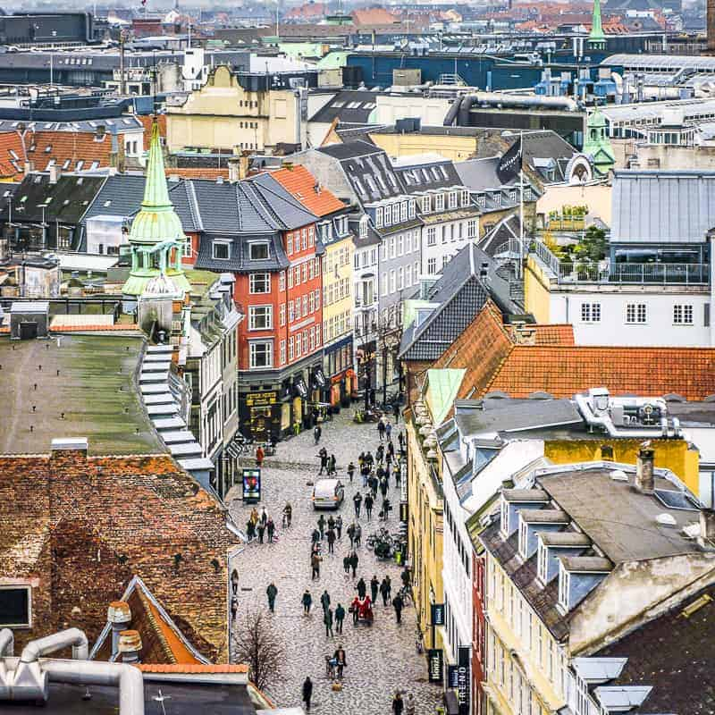 Copenhagen Cityscape, Denmark