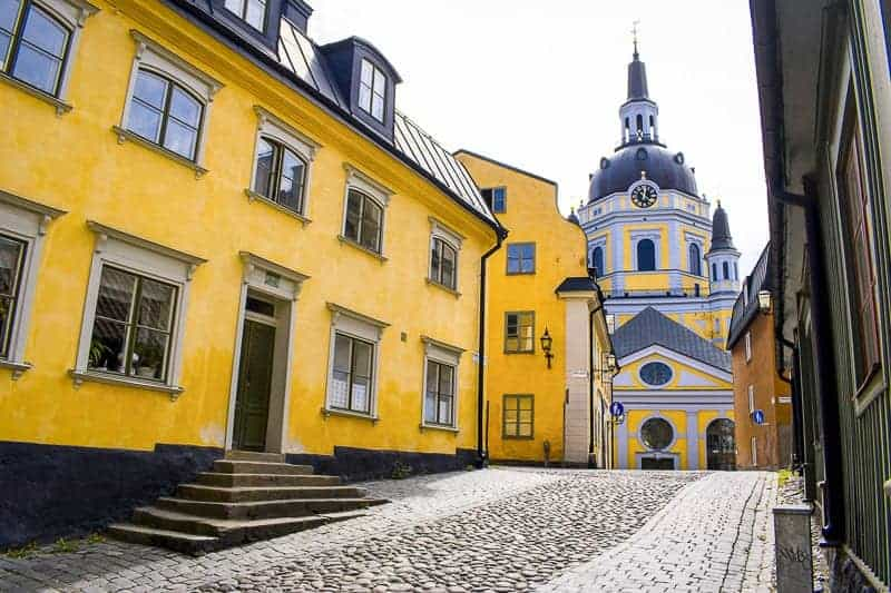 Stockholm hotels in Katarina kyrka (Church of Catherine).