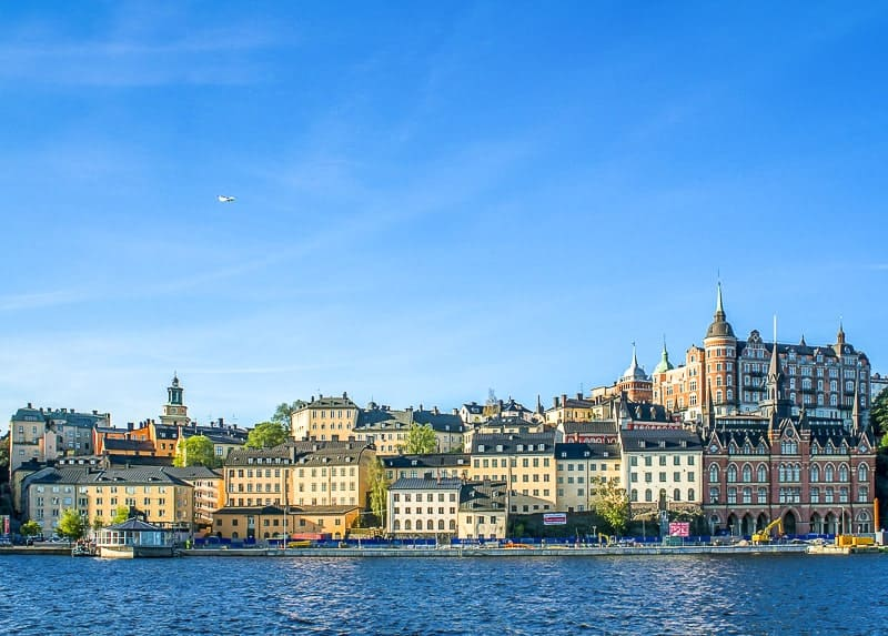 Staying at Swedish Hotels in Beautiful Waterfront Area in Stockholm.