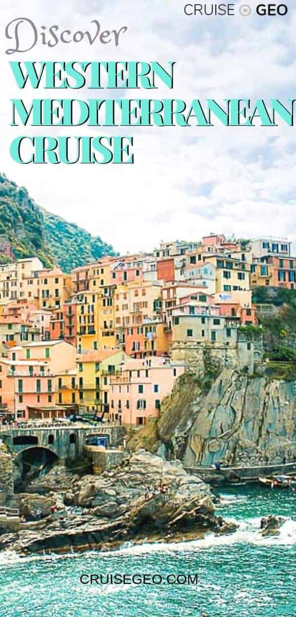 Cinque Terre Landscape image for Western Mediterranean Cruise