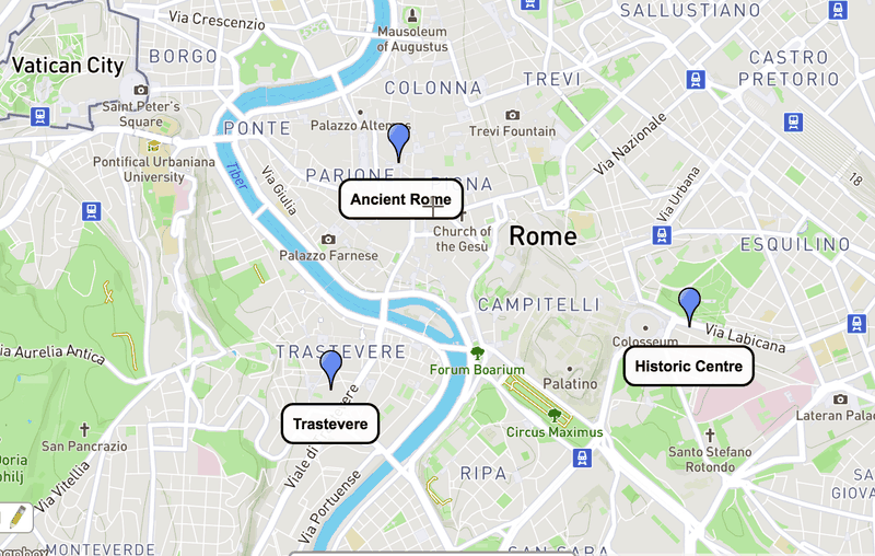 Best areas to stay in Rome, Italy