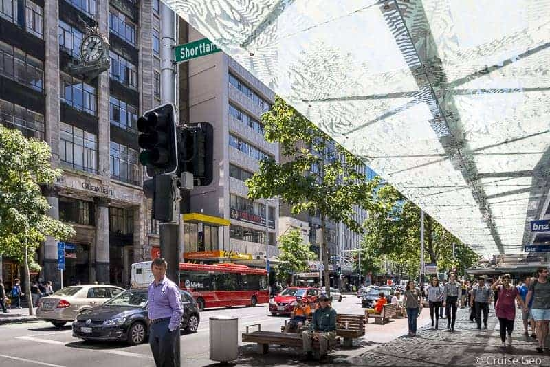 Exploring the Auckland Central Business District