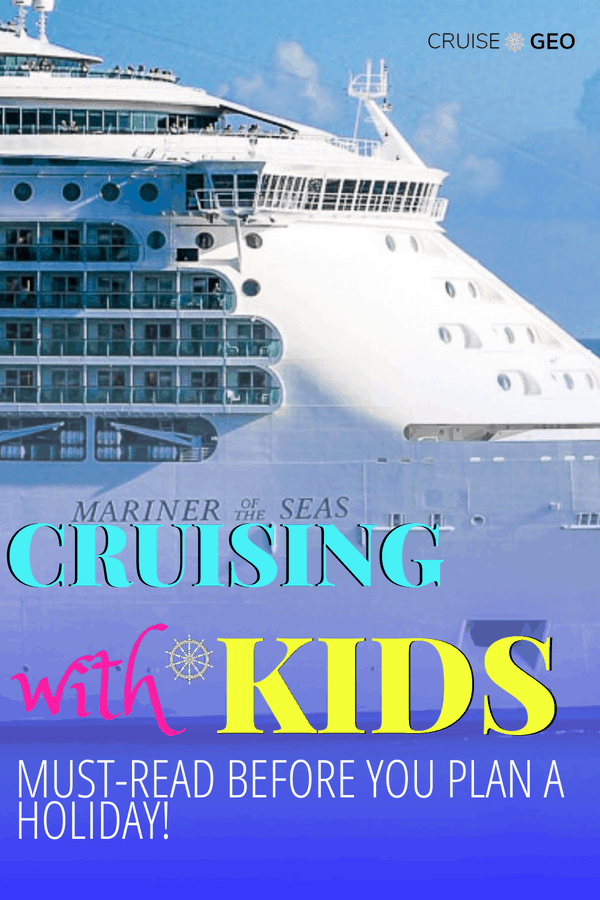 Kids sailing for free with a cruise ship