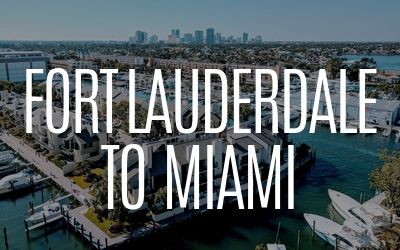 Fort Lauderdale to Miami