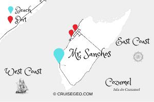 Mr. Sanchos Map