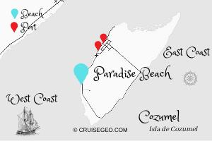 Paradise Beach Map