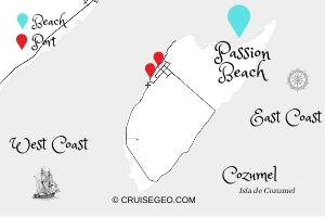 Passion Beach Map