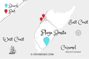 Playa Bonita Map