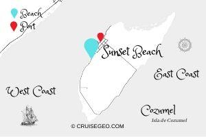 Sunset Beach Map