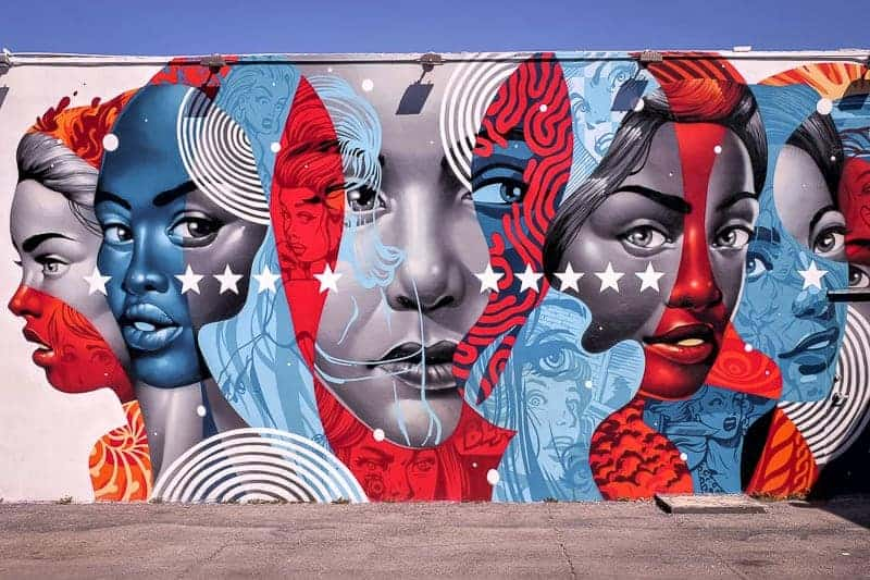 What to Do in Miami - Wynwood Mural painting