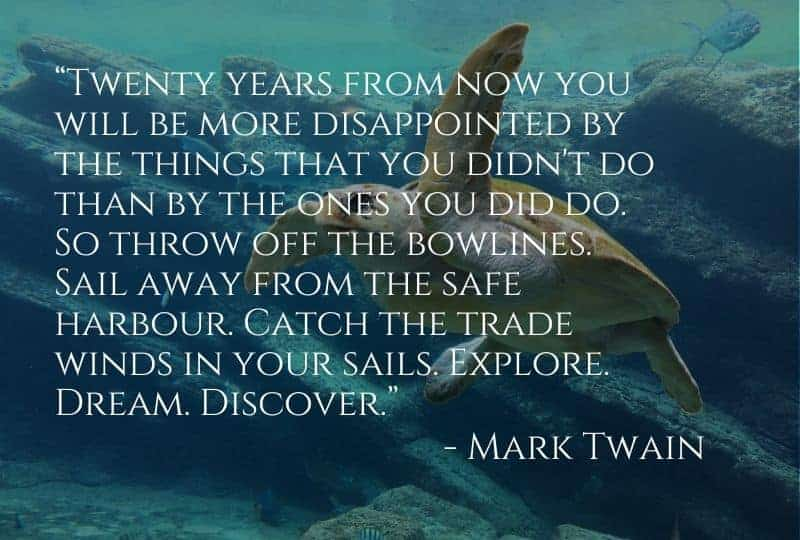 Cruise Quote from Mark Twain