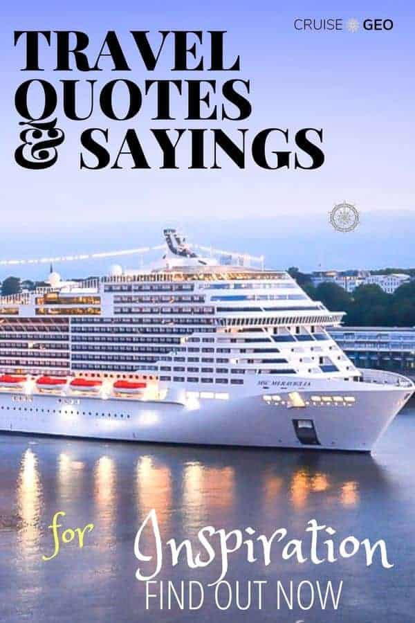 Travel Quotes with Cruise Ship